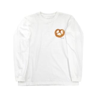 プレッツェル Long sleeve T-shirts