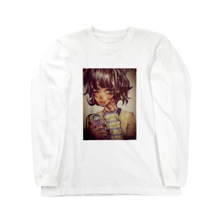 パフュームガール。 Long sleeve T-shirts
