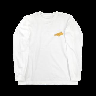 いぬころ@柴犬屋のバタードッグ  Long sleeve T-shirts