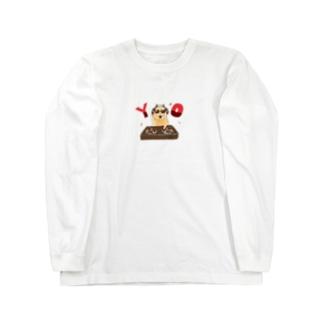 イケてるキンクマ Long sleeve T-shirts