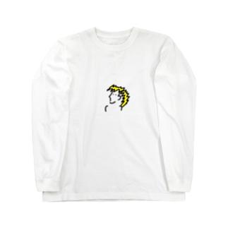 売れないバンドのボーカル Long sleeve T-shirts