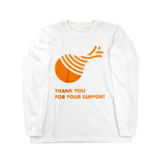 THANK YOU FOR YOUR SUPPORT Long sleeve T-shirts