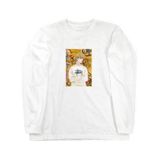 オレンジちゃん Long sleeve T-shirts