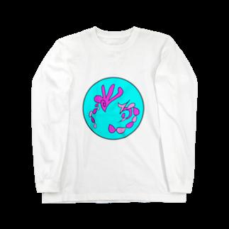 junsen 純仙 じゅんせんのJUNSENSETA(瀬田純仙)古代絵者2A Long sleeve T-shirts