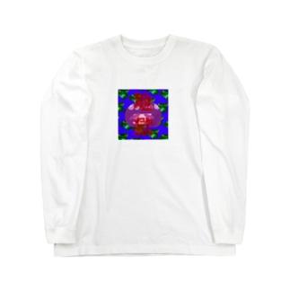 地獄 Long sleeve T-shirts