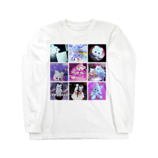 RAITYO TSUMEのクマキチ・メモリーズ Long sleeve T-shirts