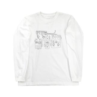 トキメキ☆エフェクターボード(淡色) Long sleeve T-shirts