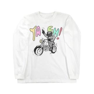 YAEH!(シンプル) Long sleeve T-shirts
