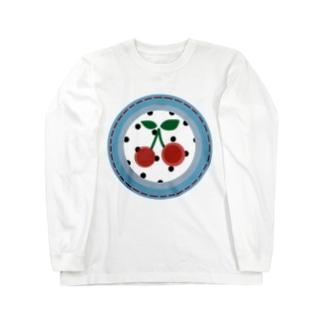 cherry Long sleeve T-shirts