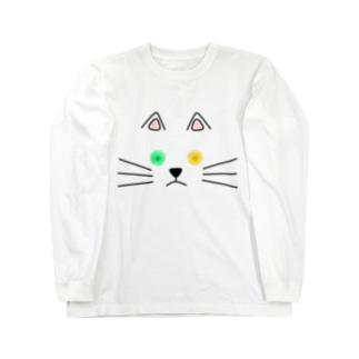 オッドアイ Long sleeve T-shirts