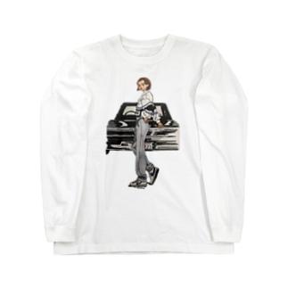 IDA san's custom Long sleeve T-shirts