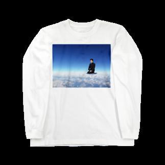 テクダの藤井天段 Long sleeve T-shirts