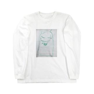 ゆるキャラみどり鬼 Long sleeve T-shirts