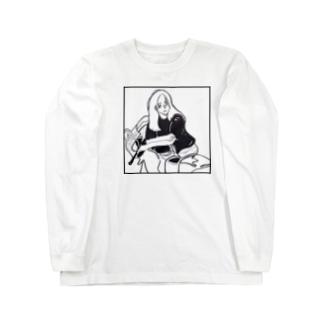 "Miu Exhibit Tee ""DETOUR""  Long sleeve T-shirts"