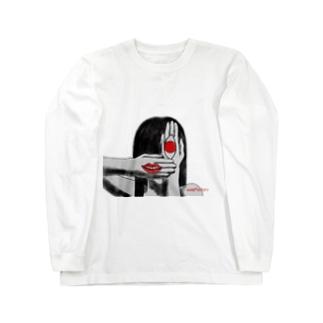 無表情 Long sleeve T-shirts