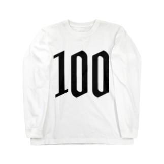 100 Long sleeve T-shirts