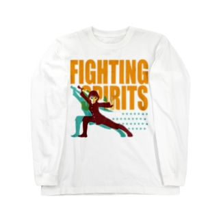 戦う少女~FIGHTING SPIRITS~ Long sleeve T-shirts