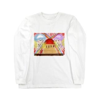 Ang5 レインボーエンジェルと太陽の神殿 Long sleeve T-shirts