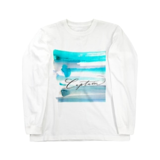快晴Captain Long sleeve T-shirts