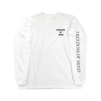 FREEDOM of  MIND  Long sleeve T-shirts