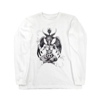 Baphomet Long sleeve T-shirts
