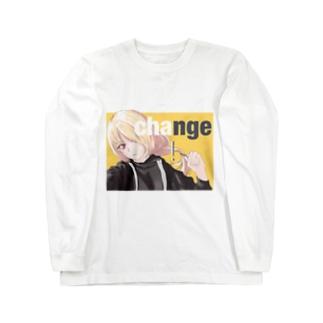 女の子 Long sleeve T-shirts