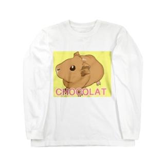 CHOCOLATちゃん Long sleeve T-shirts