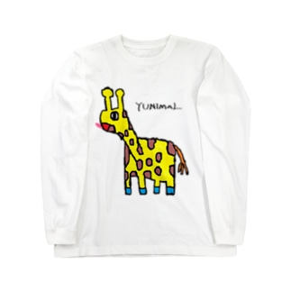 マサイキリン Long sleeve T-shirts