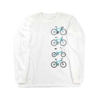 自転車セット Long Sleeve T-Shirt