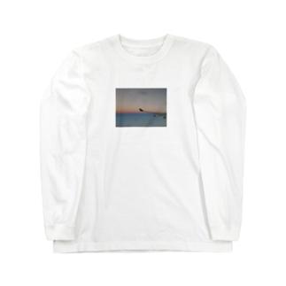 時間旅行 Long sleeve T-shirts