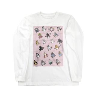 猫ちゃん's Long sleeve T-shirts