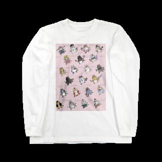 はとぽっぽ@鳩さんの猫ちゃん's Long sleeve T-shirts