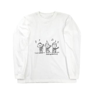 ギタートリオ Long sleeve T-shirts