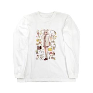 kumachan Long sleeve T-shirts