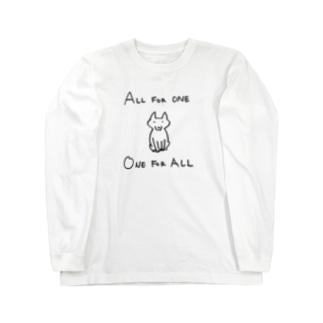オールフォーワン Long sleeve T-shirts