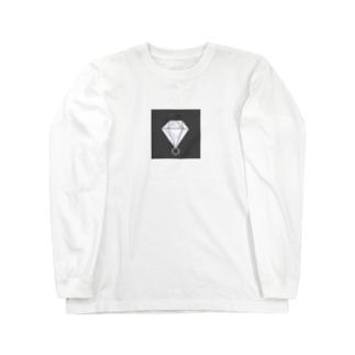 Simple is Diamond Long sleeve T-shirts