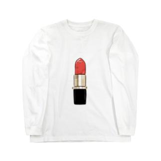 Lipstick Long sleeve T-shirts