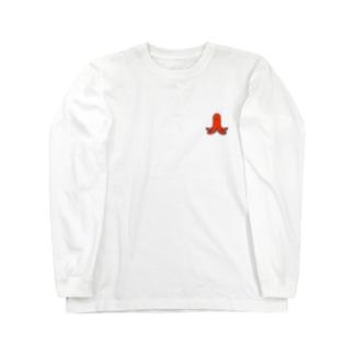 たこさんウインナー Long sleeve T-shirts