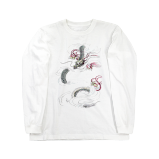 AnomaliA-Nachiの和風ドラゴン Japanese Dragon Long sleeve T-shirts