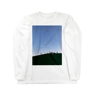 青空 Long sleeve T-shirts