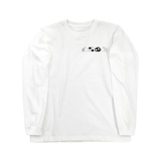 りんごの整列 Long sleeve T-shirts