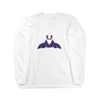 悪魔のグッズ Long sleeve T-shirts