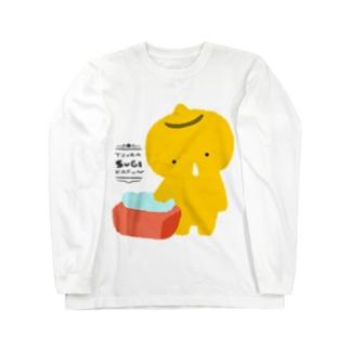 つらスギかふん Long sleeve T-shirts