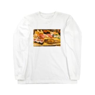 ありがとう、築地 Long sleeve T-shirts