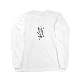 横顔さん Long sleeve T-shirts