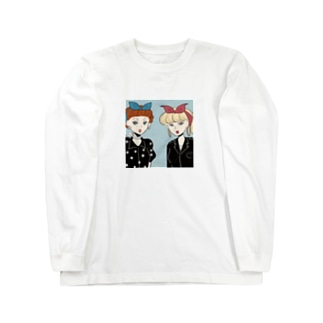 50s rocabilly girls Long sleeve T-shirts