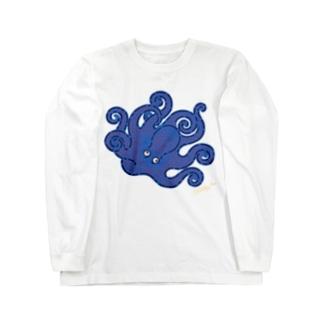 タコってクール COOL OCTOPUS Long sleeve T-shirts