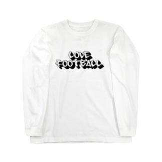 love football Long sleeve T-shirts
