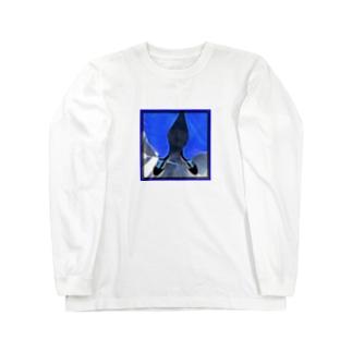 blue 1 Long sleeve T-shirts