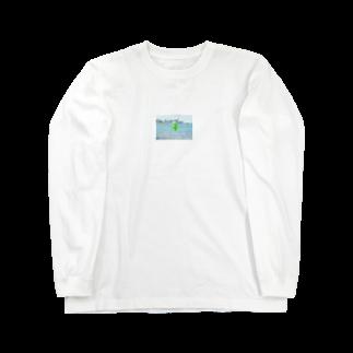 woiの海とメロンクリームソーダ Long sleeve T-shirts